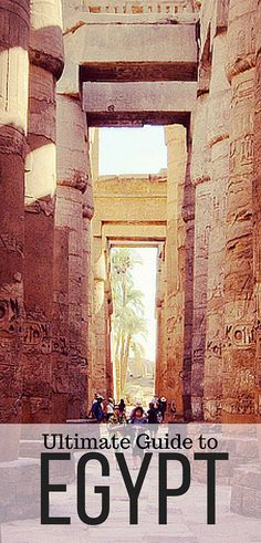 The top places to visit in Egypt!