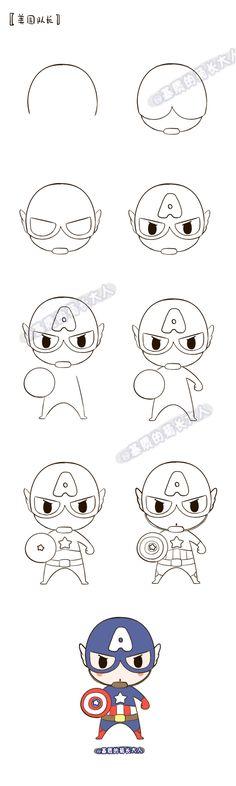 Draw a Captain America