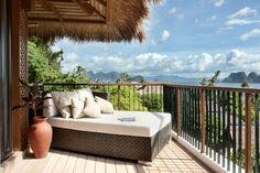 Pangulasian Island Resort offers 42 villas built in contemporary Filipino architecture, Philippines.