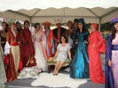 Osmanlı kıyafeti defilesi