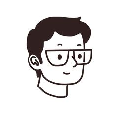 I started to draw minimalist avatars for my social channels, and I started receiving requests from people, so I'm now proposing this idea on my Fiverr page. Web Design, Sketch Design, Character Illustration, Graphic Illustration, Drawing Cartoon Faces, Black And White Cartoon, Channel Art, Simple Cartoon, Human Art