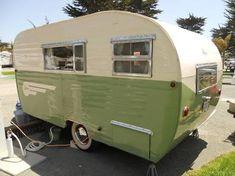 Image result for 1956 aljoa sportsman vintage camper