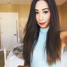Eva!my fave youtuber ever i love the way she does her make up it amazing such nice hair so beautiful x