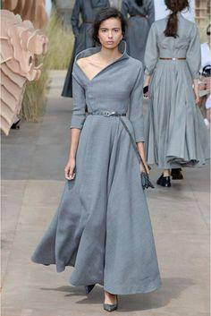 Christian Dior/ Otoño Invierno 2017/2018 - Pasarela___ The suffragists and K. Hepburn