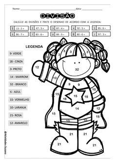 Matemática divertida - Atividades Adriana Math Addition, 1, Math Activities, Special Needs Teaching, Fun Math, Fifth Grade, Facts
