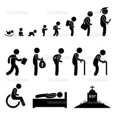 Stages of a Man's Life   As most of u know, people are made of mud. And before they become mud ...