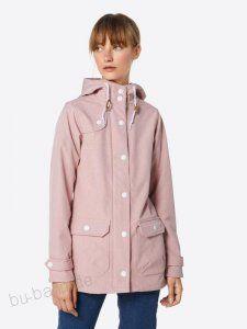 Derbe Jacke 'Peninsula' in rosé Softshell, Raincoat, Fashion, Jackets, Rain Jacket, Moda, Fashion Styles, Fashion Illustrations