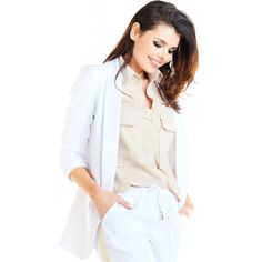 Things That Bounce, Blazers, Spandex, Model, Blouse, Jackets, Tops, Products, Fashion