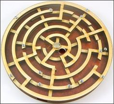 wooden maze game - Buscar con Google