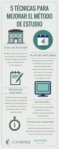 Técnicas de estudio via @nuvallejo