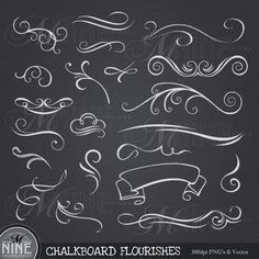 chalkboard+design+border | Chalkboard Borders Clip Art