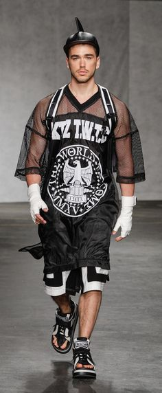 KTZ Spring/Summer 2015   London Collections