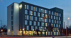 Außenansicht des B&B Hotels #Koeln-Messe
