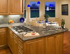 Small Kitchen Design Layouts With Window Glass