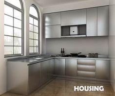 Stainless Steel Kitchen Cabinets | Cstene