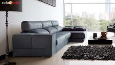 SOFASSINFIN #decoración Sofá chaiselongue modelo Magno de Acomodel. Visitenos en http://sofassinfin.es/chaise-longue-y-rinconeras.html