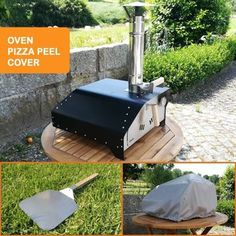 The Fiesta portable pizza oven KIT in a Box includes everything you'll need to get started: the pizza oven, the pizza peel and the all weather cover for the oven. It's a very affordable starter kit. It includes delivery to your doorstep. Portable Pizza Oven, Pizza Oven Kits, Small Pizza, Four A Pizza, Barbecue, Bbq Grill, Wood Fired Oven, Wood Fired Pizza, Fire Pizza