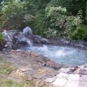 in ground hot tub ... would love to have one