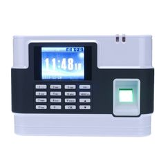 (99.32$)  Watch more here  - Biometric Fingerprint Password Attendance Machine Employee Checking-in Recorder  TCP/IP 2.8 inch LCD Screen DC 9V Time Attendance Clock