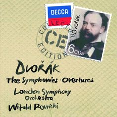 Dvorak: The Symphonies London Symphony Orchestra, Witold Rowicki