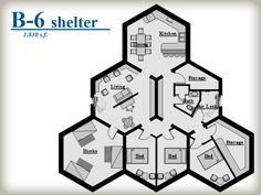 Honey Bee survival shelter.B-6 Shelter