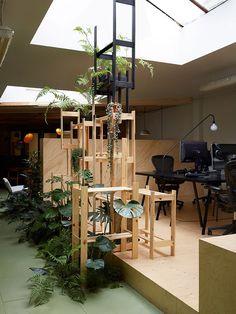 Random Studio Amsterdam Office Designed by X+L | Yellowtrace
