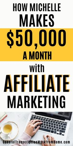 Find out How Michelle Makes $50,000 /MONTH with Affiliate Marketing. Learn how to make money online with affiliate marketing and make money blogging from a successful affiliate. #affiliatemarketing #affiliatemarketingforbeginners   #affiliatemarketingtips #passiveincome #onlineincome #affiliateprograms #makemoneyonline #makemoneyblogging Make Money On Amazon, Make Money From Home, Make Money Online, How To Make Money, How To Become, How To Get, Online Income, Online Jobs, Amazon Affiliate Marketing