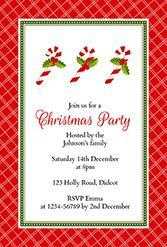 free template for christmas party invitation