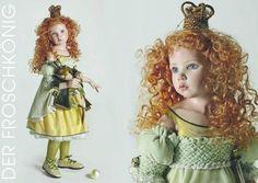 Princess and The Frog - 2011 Hildegard Gunzel Porcelain Collection