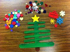 Holiday Craft: Craft Stick Christmas Trees | Scholastic.com