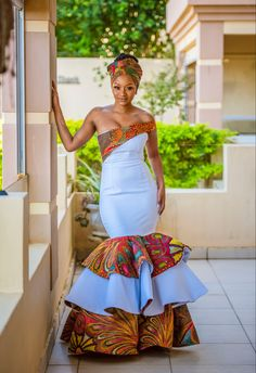 African Bridal Dress, African Party Dresses, African Bridesmaid Dresses, African Fashion Skirts, African Dresses For Women, African Print Dresses, African Attire, African Print Wedding Dress, African Outfits