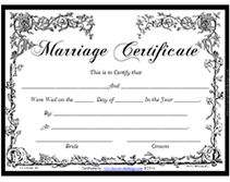 Keepsake marriage certificate template free download how to be a victorian free printable marriage certificates yadclub Image collections