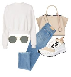 """Untitled #23635"" by florencia95 ❤ liked on Polyvore featuring Fendi, Cotton Citizen, Puma and Ray-Ban"