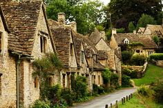 Cozy English village