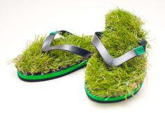 Grass flip-flops! norooz anyone?