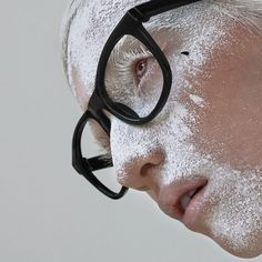 Cool concept! I like the contrast between the white powder and black glasses.  MNLG by Kuzmenkova Mary, via 500px