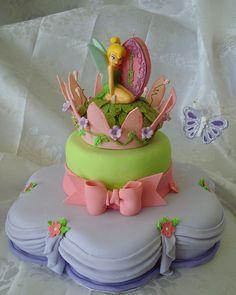 @KatieSheaDesign Likes--> #Cake Tinkerbelle