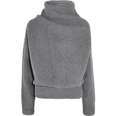 Acne Studios Jacy oversized ribbed wool turtleneck sweater