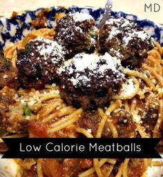 Low Calorie Meatballs #recipes #lowcalorie