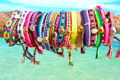 accessories, bands, colourful, colours, friendship bands