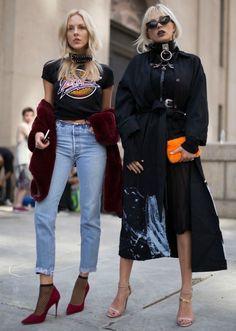 New York Fashion Week Street Style Frühjahr Die beste Mami … - Mode Trends Street Style Chic, Street Style Outfits, New York Fashion Week Street Style, Looks Street Style, Spring Street Style, Cool Street Fashion, Look Fashion, Spring Fashion, Autumn Fashion