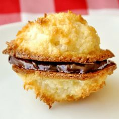 Quick and Easy Perfect Macaroons - this easy recipe which uses sweetened condensed milk to make some fantastic macaroons. Coconut lovers will go bonkers for these!