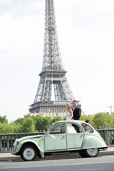 Real Wedding: Jessica and Timothy's Paris Elopement