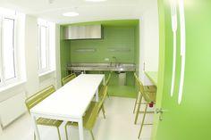 Chaque étage possède sa propre cuisine collective, à vous les soirées masterchef entre colocs ! Europe, Cabinet, Storage, Furniture, Home Decor, Casual Bedroom, Clothes Stand, Purse Storage, Decoration Home