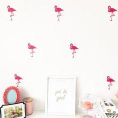 Flamingo Wall Decals
