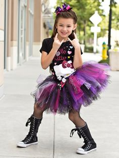 Image result for child rock star look