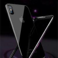 Jedinečný silikónový obal Bumper pre iPhone X v čiernej farbe, Galaxy Phone, Samsung Galaxy, Mobiles, Mobile Phones