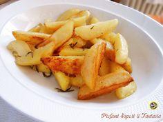Patate croccanti in padella o al forno