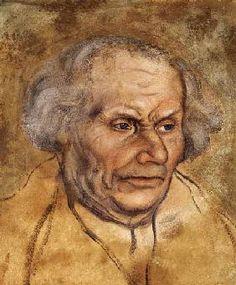 Lucas Cranach d. Ä. Luther's Vater Wien Graphische Sammlung