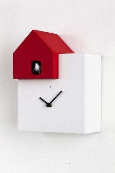 Inspiration: Ettore - I believe this is a cuckoo clock! Available in 2 colors. - Orologi a Cucù > Diamantini & Domeniconi
